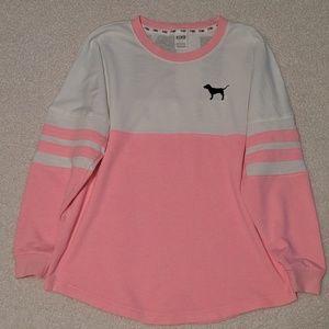 PINK large sweatshirt